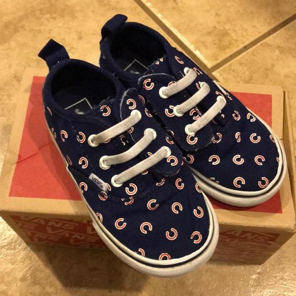Vans Shoes | Kids Chicago Cubs Vans